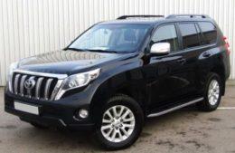 Toyota Land Cruiser Prado с водителем