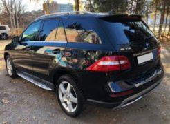 Mercedes-Benz ML-class в аренду