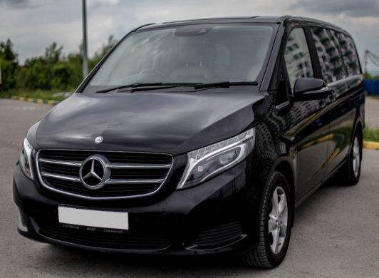 Mercedes-Benz V-class с водителем