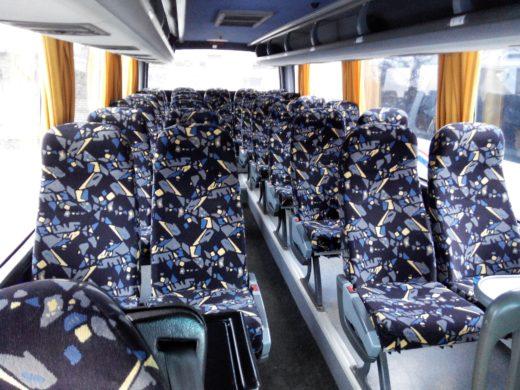 Автобус Mersedes-Benz с водителем