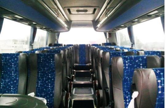 Автобус ZHONG TONG салон