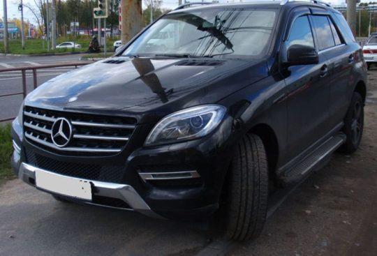 Mercedes-Benz ML-class прокат