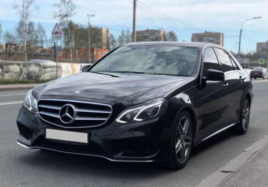 Mersedes-Benz Е-class W212 рестайлинг аренда с водителем