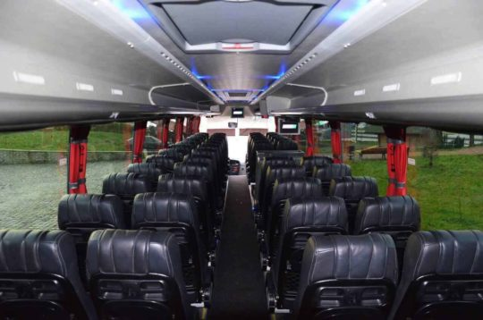 Автобус Temsa салон