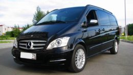 Mercedes-Benz Viano черный