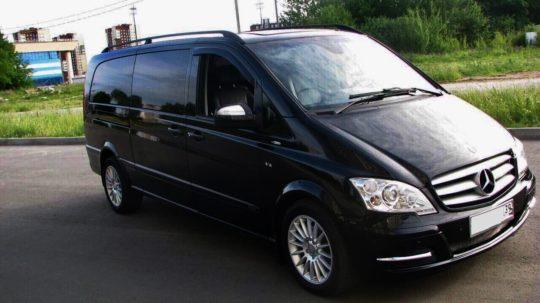 Mercedes-Benz Viano черный фото