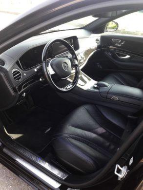 Mercedes S-class W222 Long салон