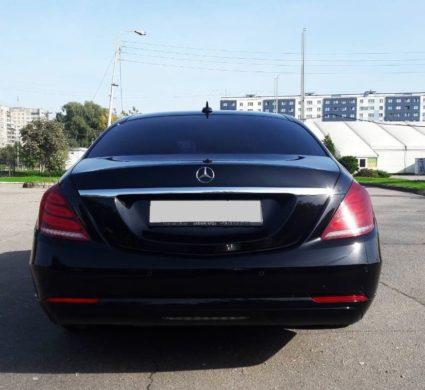 Mercedes-Benz S-class W222 Long c водителем