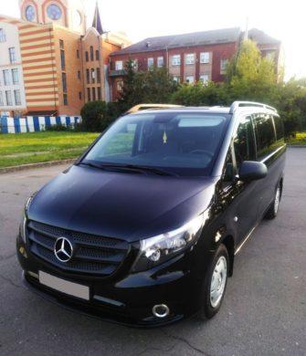Mercedes-Benz V-class черный