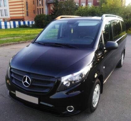 Mercedes V-class в аренду с водителем