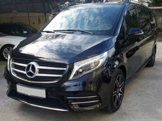 Mercedes V-class с водителем