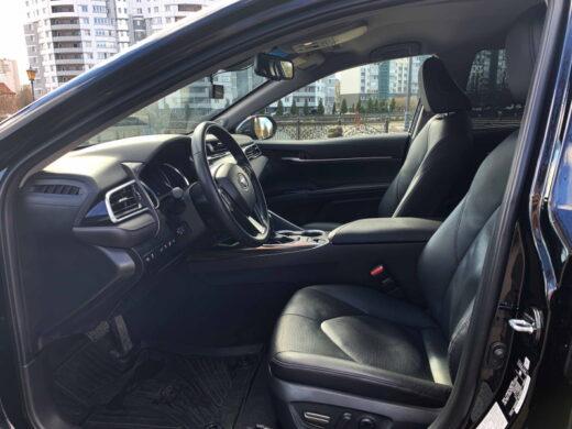 Toyota-Camry XV-70 салон