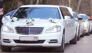 кортеж на свадьбу из лимузинов