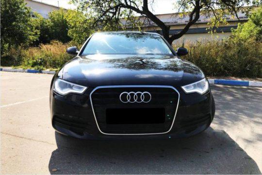 Audi A6 черная