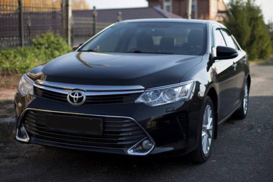 ToyotaCamry XV55 черная