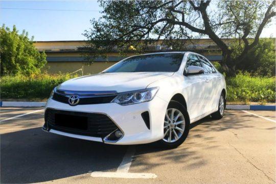 ToyotaCamry XV55 белая