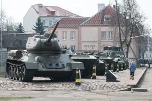 музкй военной техники в Советске
