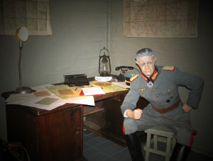 Фото внутри музея Бункера