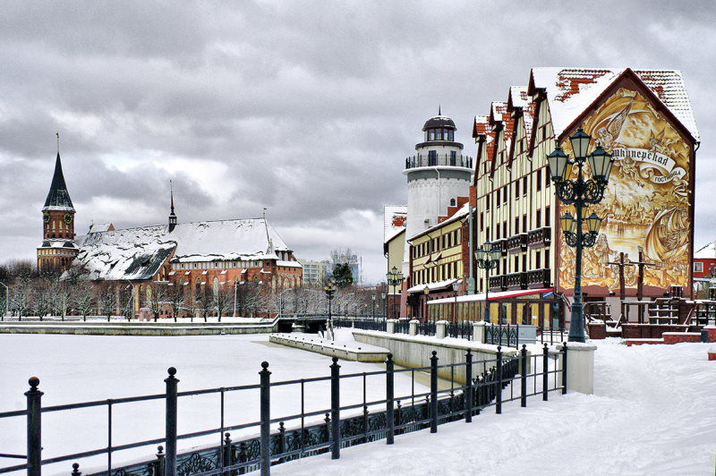 Калининград зимой 3
