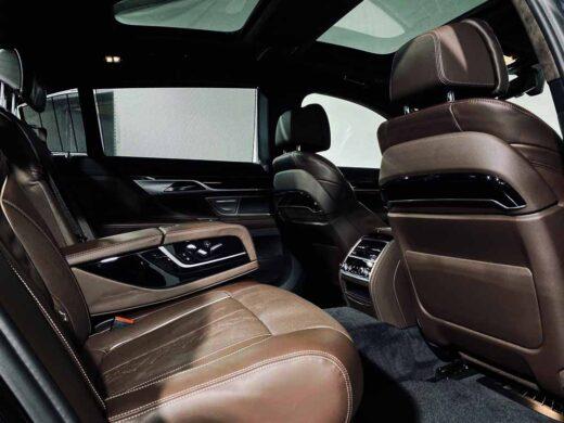 BMW 730LD салон