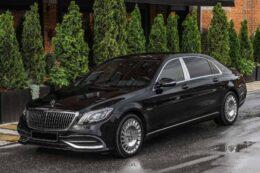 Mercedes-Maybach с водителем