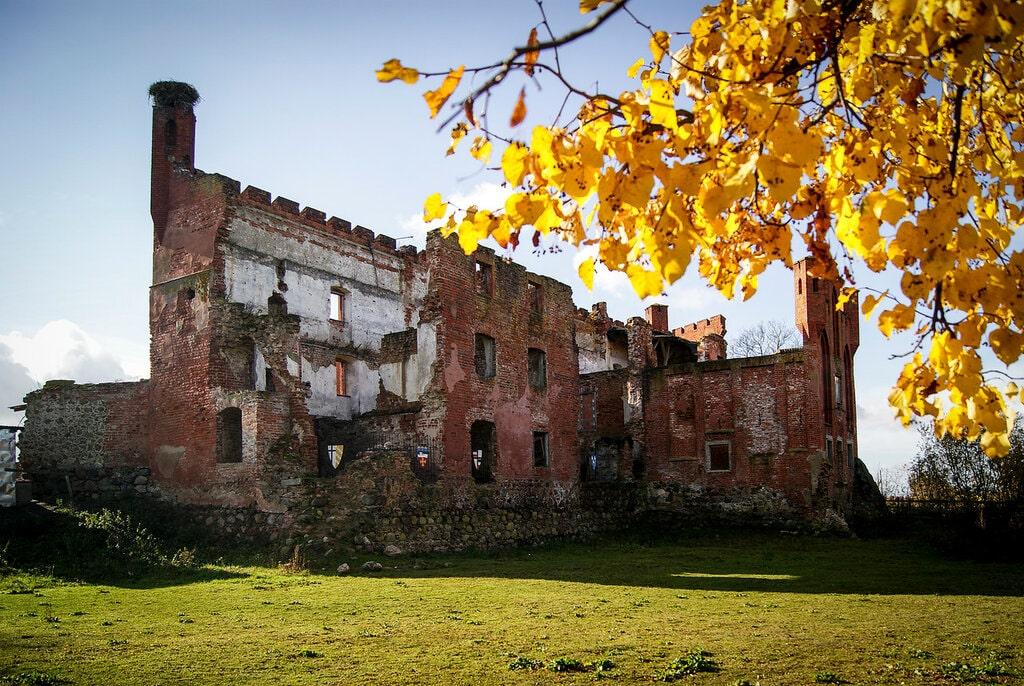 фото замковые укрепления