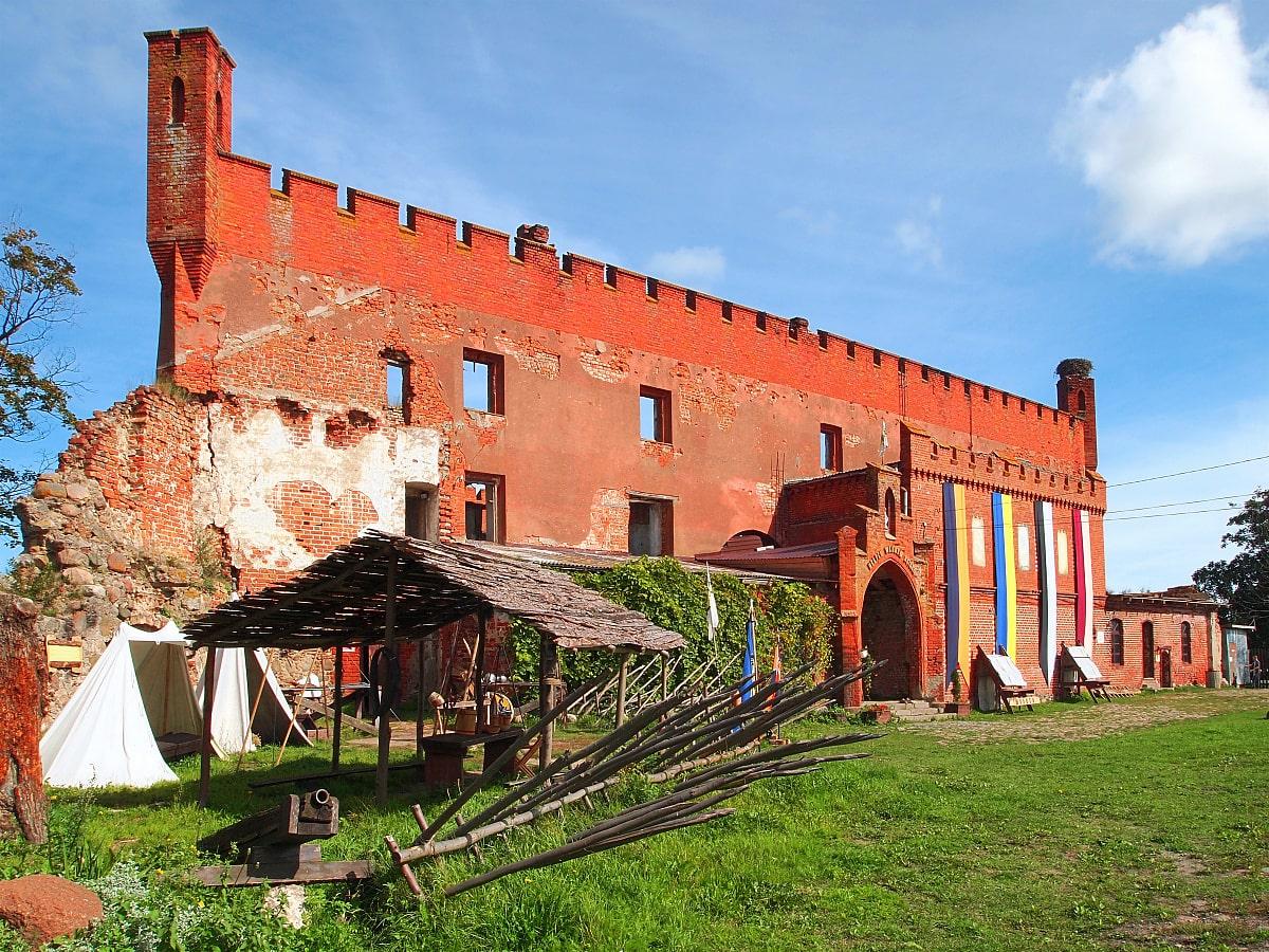 замок шаакен Калининград