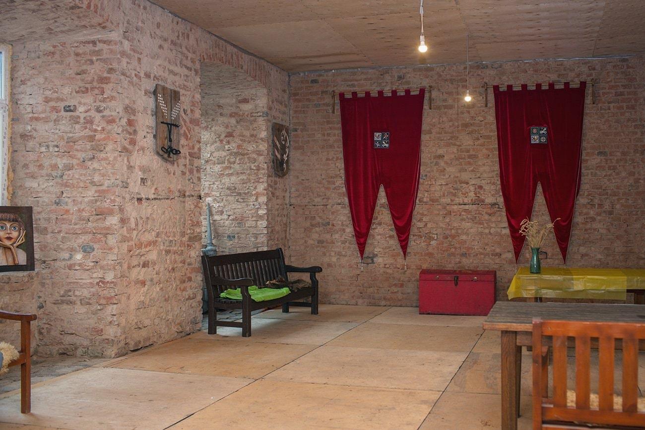 фото внутри замка